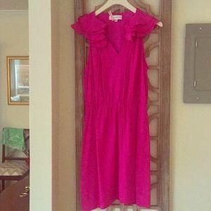 Amanda Uprichard pink dress